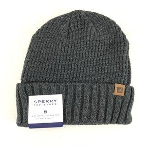 Sperry Top-Sider Mens Waffle Knit Watchcap Beanie